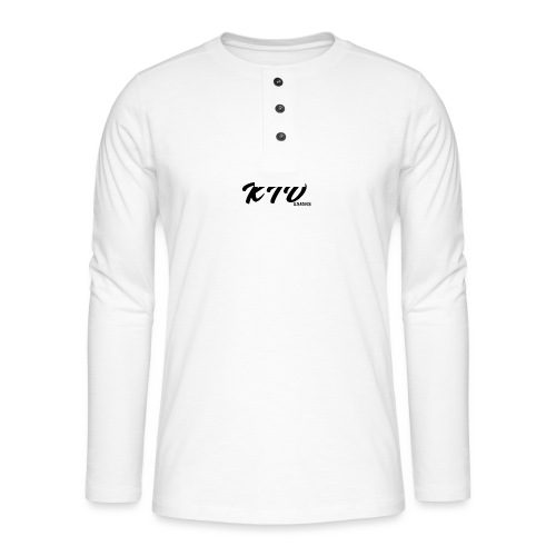 KIDesigns - Henley long-sleeved shirt