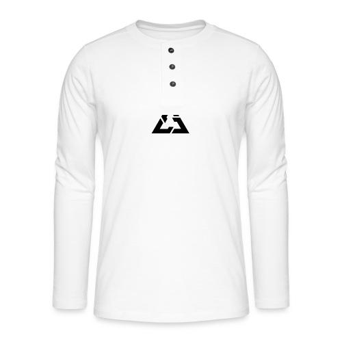 Angle Logo Brand - Maglia a manica lunga Henley
