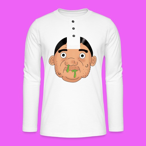 Fat boy - Camiseta panadera de manga larga Henley