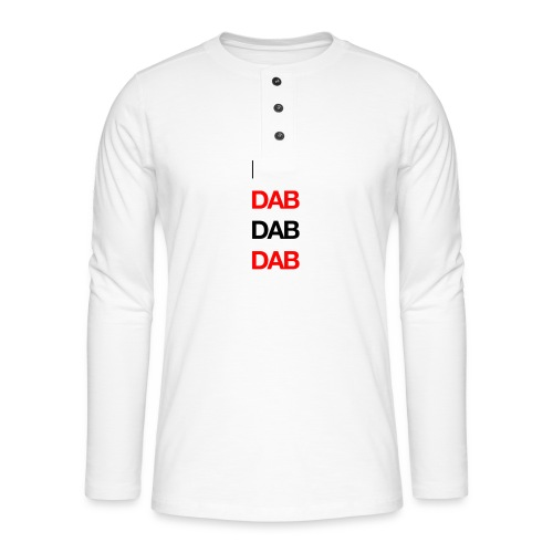 Dab - Henley long-sleeved shirt