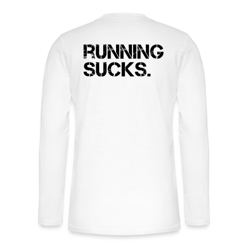 Running Sucks - Henley Langarmshirt