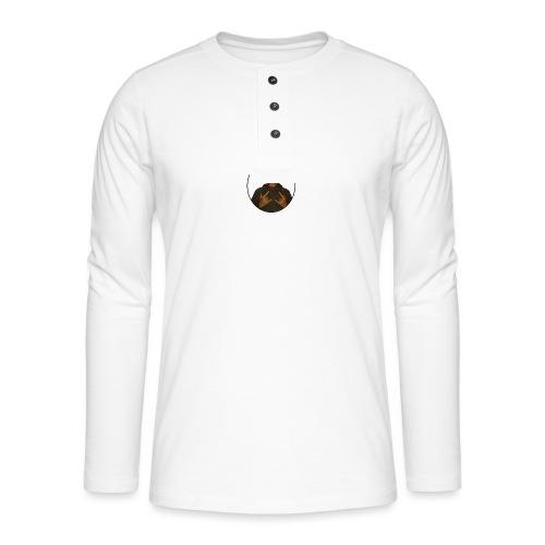 HetIsRoy - Henley shirt met lange mouwen