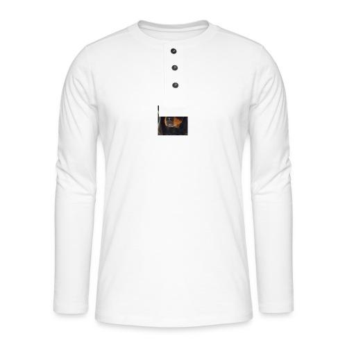 hoodie - Henley long-sleeved shirt