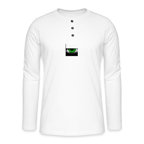 Green eye - Henley long-sleeved shirt