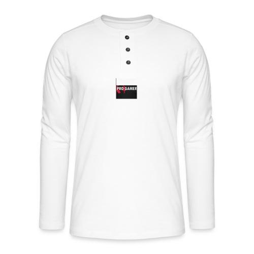 pro gamer magliette maglietta da uomo - Maglia a manica lunga Henley