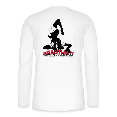 Abarthisti Pinup - Henley langermet T-skjorte