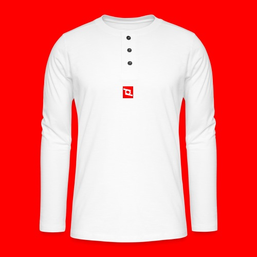 pd 90 - Henley T-shirt med lange ærmer