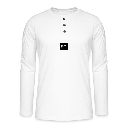 kenzie mee - Henley long-sleeved shirt