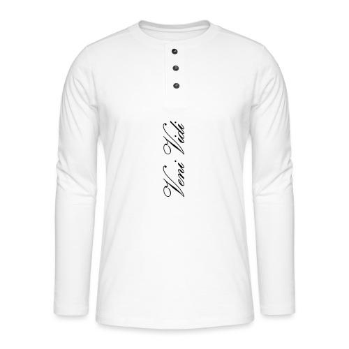 Veni Vidi Vici - Henley pitkähihainen paita