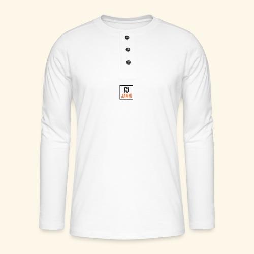 Janni Original Design - Henley T-shirt med lange ærmer