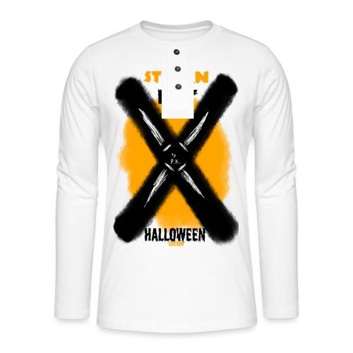 HALLOWEEN Edition - Koszulka henley z długim rękawem