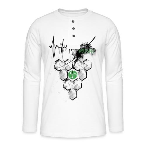 Raijin Hero-Heartbeat - Henley Langarmshirt