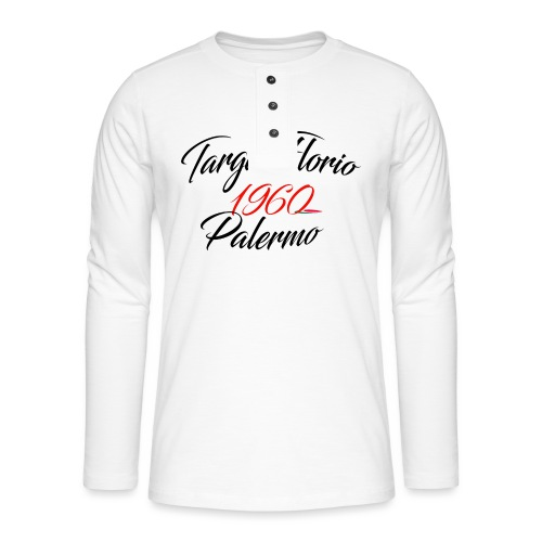 Anciennes courses Italiennes - T-shirt manches longues Henley