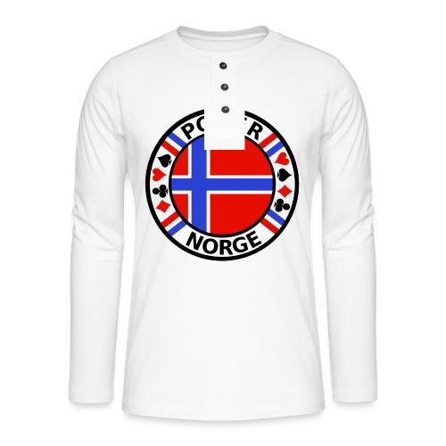 PoKeR NoRGe - Henley long-sleeved shirt