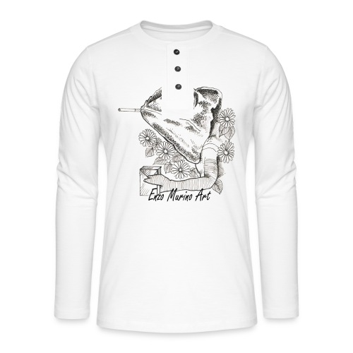 Came la clope - T-shirt manches longues Henley
