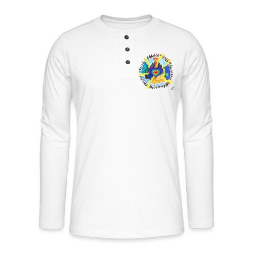 Herzwelt - Henley Langarmshirt