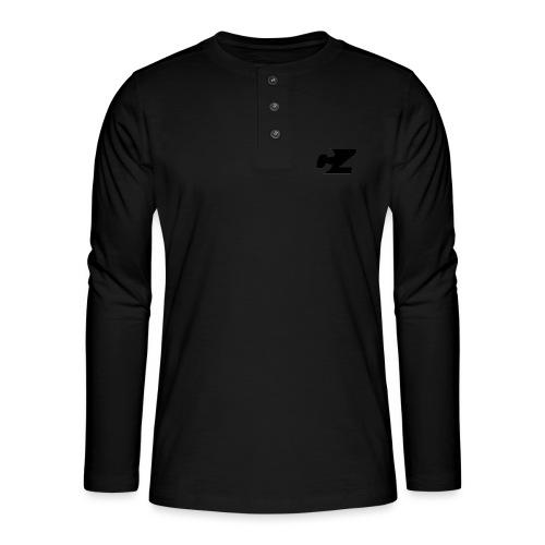 CZ X GEOMETRICAL FOX 2.0 - Camiseta panadera de manga larga Henley