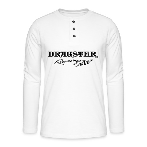 DRAGSTER WEAR RACING - Maglia a manica lunga Henley