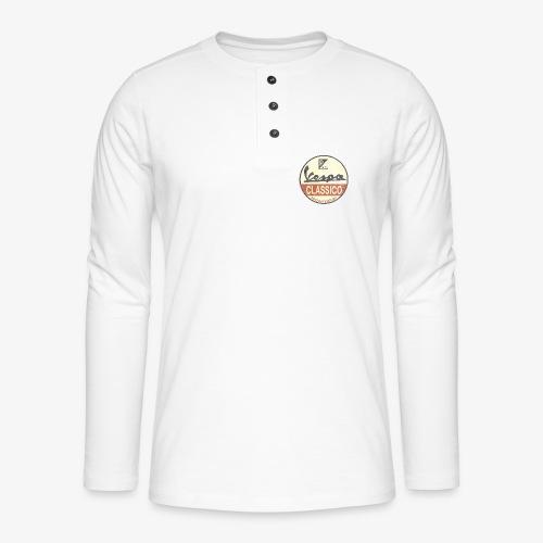 Vintage Logo - Henley Langarmshirt