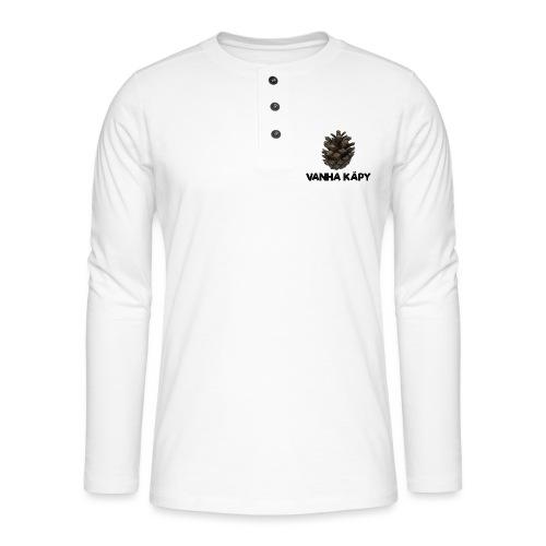 Vanha käpy - Henley pitkähihainen paita