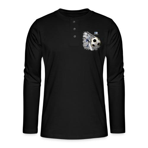 FP22F 05 FINLAND FOOTBALL - Henley pitkähihainen paita