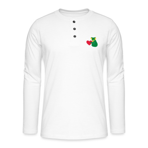 Koala Heart - Henley long-sleeved shirt