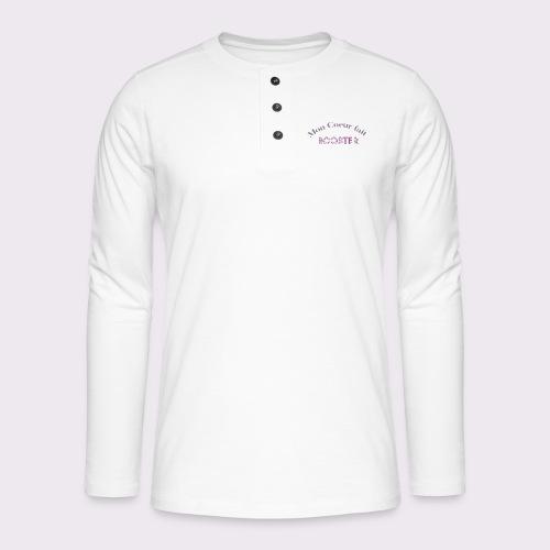 moncoeurfaitbooster - Henley long-sleeved shirt