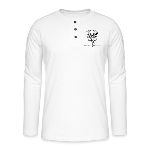 chiot - T-shirt manches longues Henley