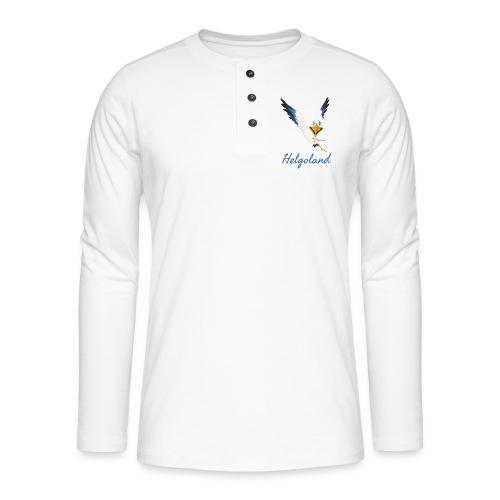 Lachmöwe Helgoland - Henley Langarmshirt