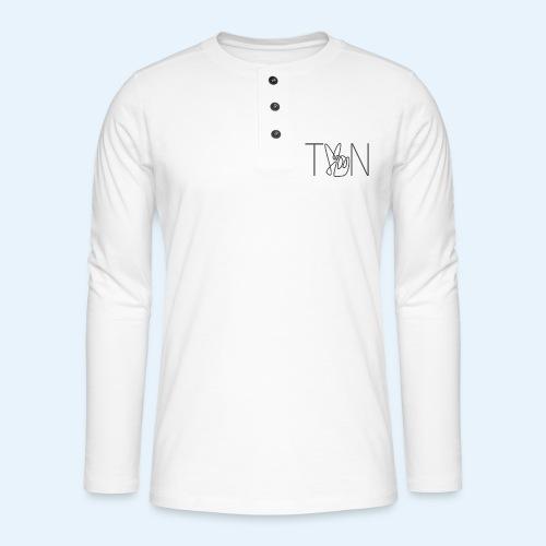 LOGOBRO - Henley long-sleeved shirt