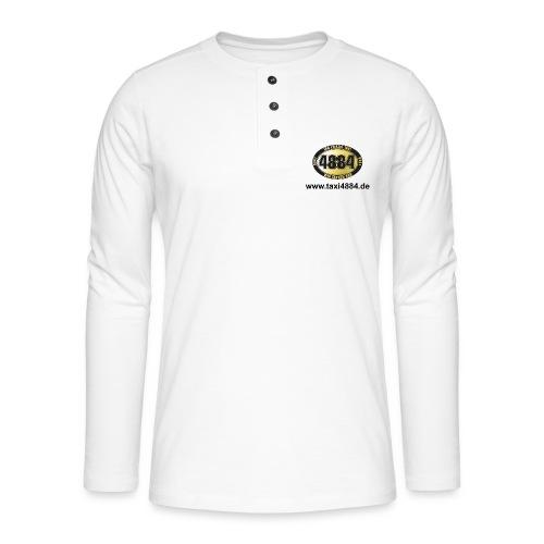 logovorne hinten dunkel - Henley Langarmshirt