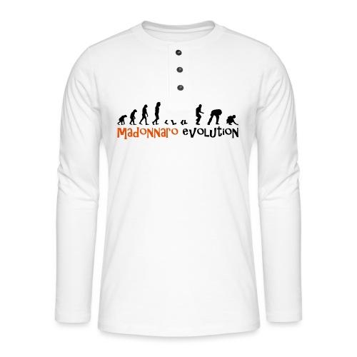madonnaro evolution original - Henley long-sleeved shirt