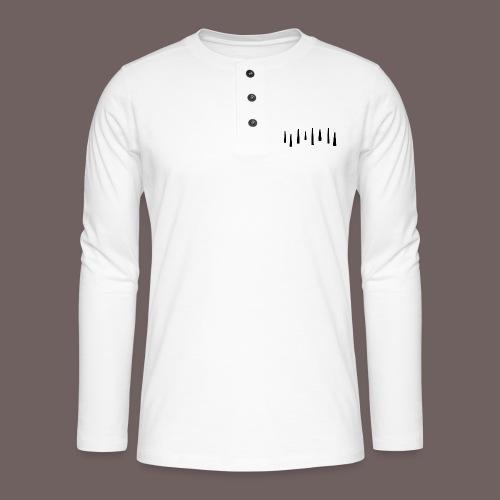 GBIGBO zjebeezjeboo - Fun - Tops 01 Noir - T-shirt manches longues Henley