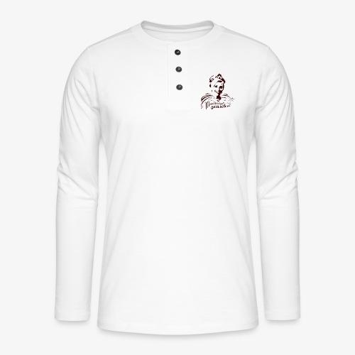 Koninging Maxima - Henley shirt met lange mouwen