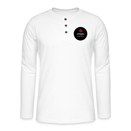 Button - Henley Langarmshirt