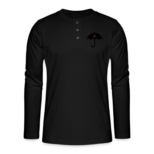 Shit icon Black png - Henley long-sleeved shirt