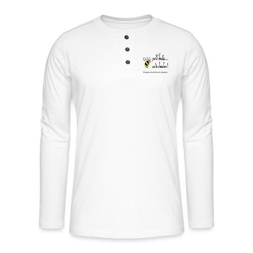 Pas d'abeille, pas de chouchen - T-shirt manches longues Henley