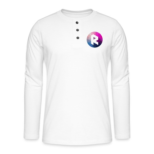 radiant logo - Henley long-sleeved shirt