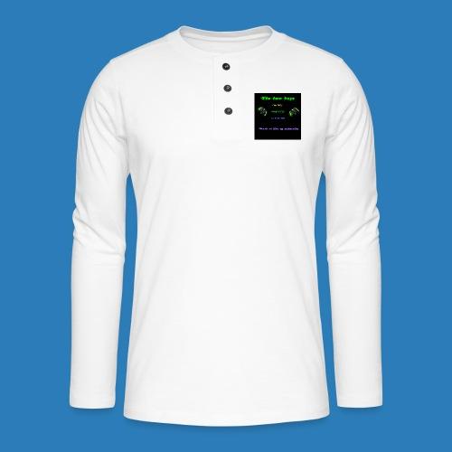 LUISJAKUBINTRO-jpg - Henley T-shirt med lange ærmer