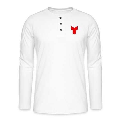 redcross-png - Henley shirt met lange mouwen
