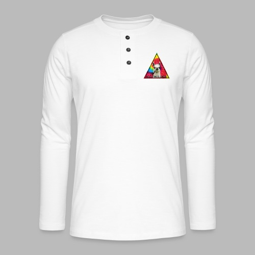 Illumilama logo T-shirt - Henley long-sleeved shirt