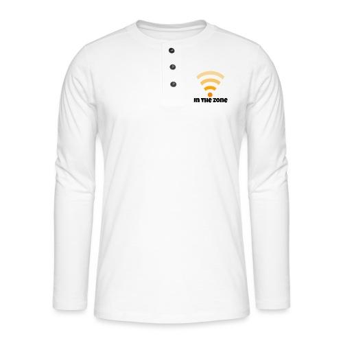 In the zone women - Henley shirt met lange mouwen