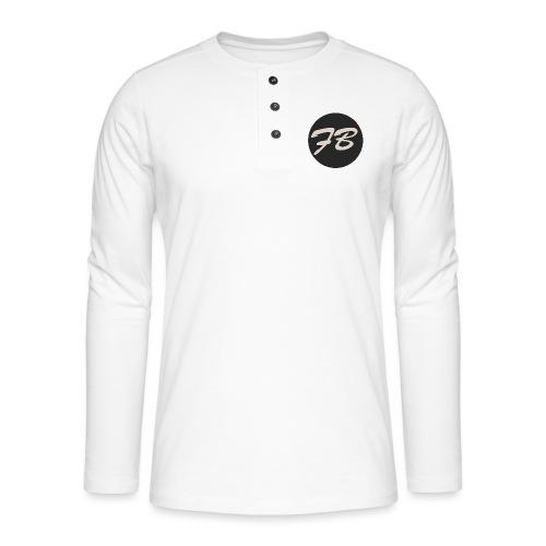 TSHIRT-INSTAGRAM-LOGO-KAAL - Henley shirt met lange mouwen