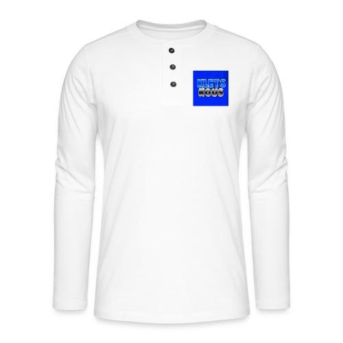 Kletskous Muismat - Henley shirt met lange mouwen