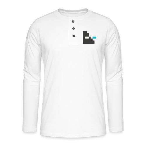 Mortu Logo - Henley shirt met lange mouwen