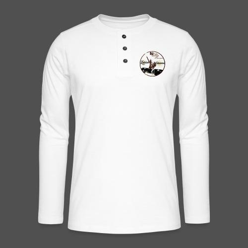 DJ An - Henley shirt met lange mouwen