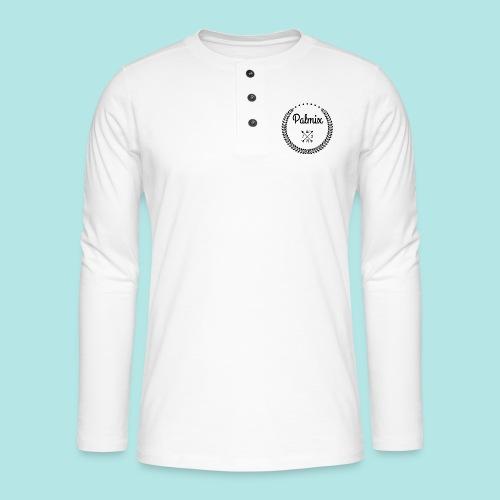 Palmix_wish cap - Henley long-sleeved shirt