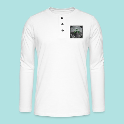 Invaders_sized4t-shirt - Henley long-sleeved shirt