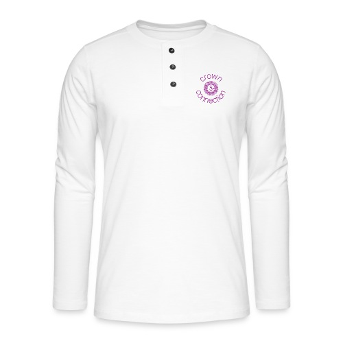 Crown Connection Logo - Henley long-sleeved shirt