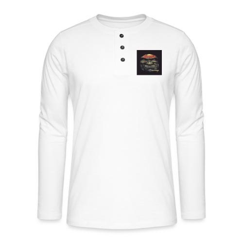 Hoven Grov knapp - Henley long-sleeved shirt